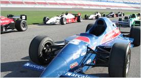 Indy style race cars