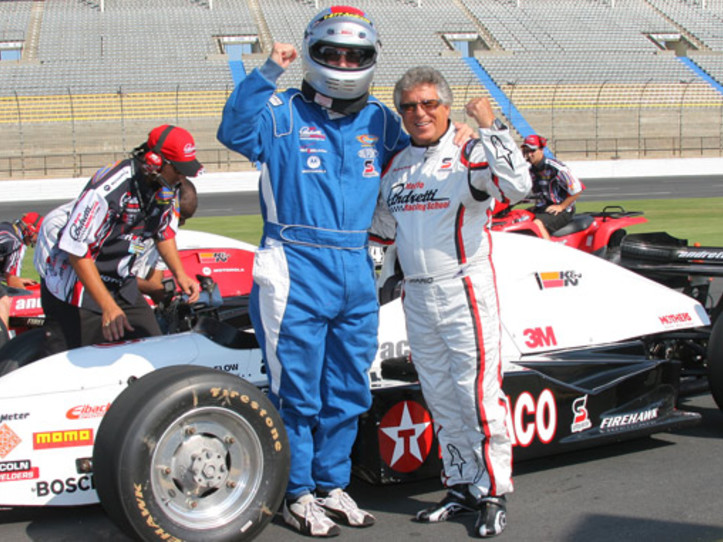 Dover international Speedway Mario Andretti Racing experience