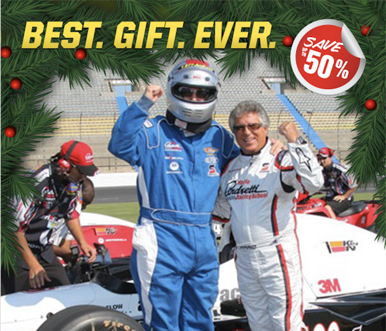 Mario Andretti Holiday news