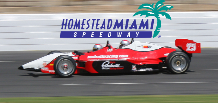 Homestead Miami Speedway Mario Andretti racing experience