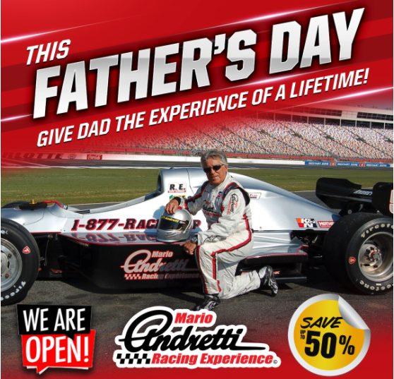 Mario Andretti Fathers Day